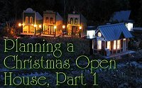 Click to see the first of last year's blogs on our Christmas open railroad.