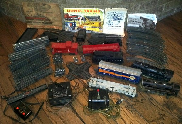 this recently advertised lionel train set includes a locomotive and transformer that are a