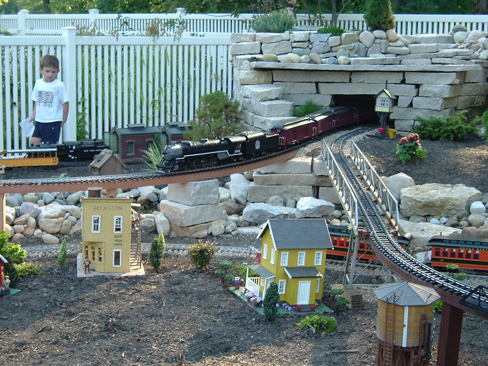 garden railroad photo gallery