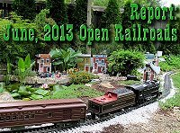 After months of preparation, Paul, Shelia, and Molly hosted two open railroads for convention attendees.  Click on this picture to see how it all turned out.