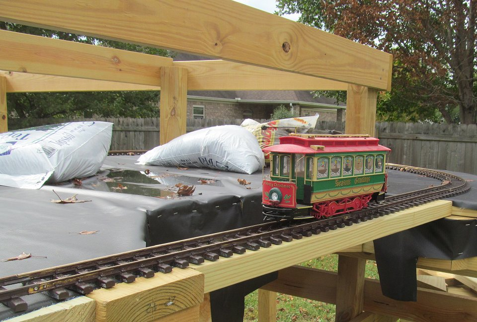 Framing the NEW New Boston and Donnels Creek RR, Part 6