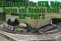 Click to see our second article on 'dirtscaping' the NEW New Boston and Donnels Creek