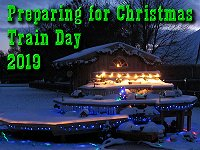 Wrapping up construction projects for 2019, getting ready for our annual Christmas-themed open railroad. Click to go to article.