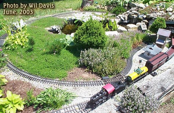 Building a garden railroad on a budget for Garden railway designs