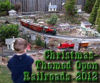 Click to find out details about Christmasa-Themed Open railroads.