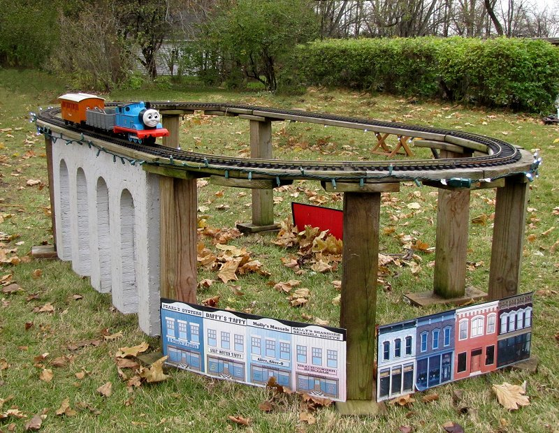 Outdoor Christmas Train Sets