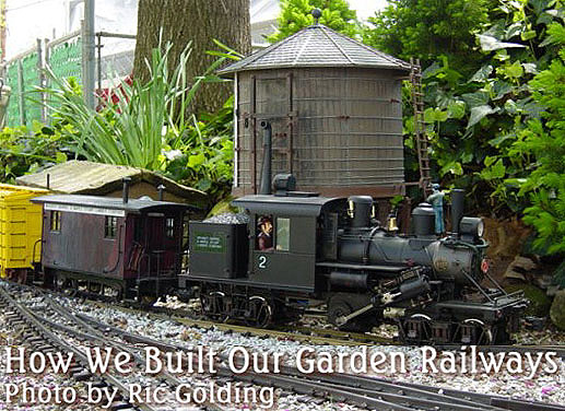Survey How We Built Our Garden Railways
