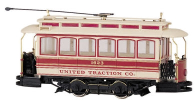 bachmann_non_christmas_streetcar_25128 back and forth operation