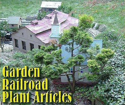 Garden Railroad Plant Articles