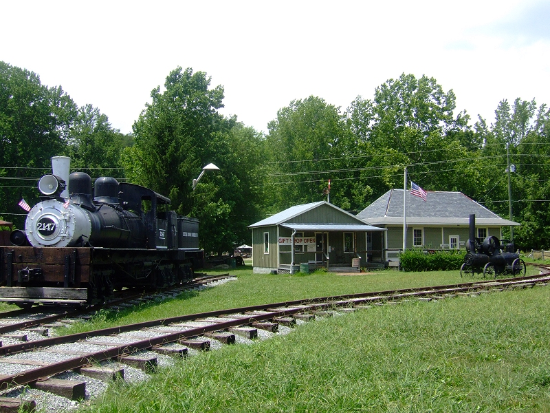 Exhibits Of The Little River Railroad And Lumber Company Museum