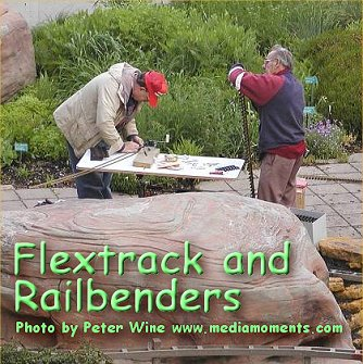 Click to see an overview of what it takes to use flextrack and what a railbender does.