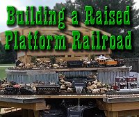 A raised platform railroad is more flexible and generally cheaper than other kinds of raised railroads. Click to go to article.