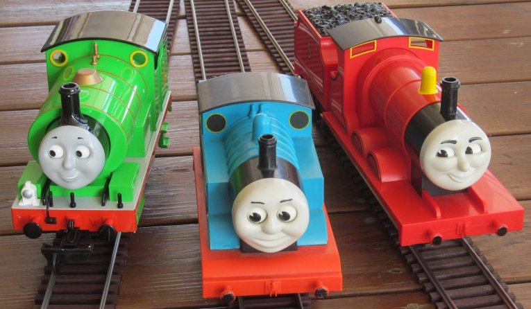 Thomas Keeps Rolling My Lionel And James With The Bachmann Percy Added