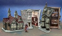 click to see the hawthorne village diagon alley collection